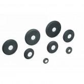 Foam Rubber Wheel, 15 mm, 2 Stück
