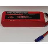 SPARK POWER   Batteria Lipo 6S 2850 mAh 22.8V 70C spina tipo EC5 HIGH VOLTAGE CELLE LIPO 4.38VOLT