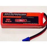 SPARK POWER   Batteria Lipo 6S 2600 mAh 22,2V 60C spina tipo EC5