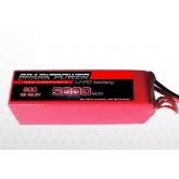 SPARK POWER   Batteria Lipo 6S 5000 mAh 22,2V 60C spina tipo EC5