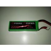 SPARK POWER   Batteria Lipo 3S 2200 mAh 11.1V 45C spina tipo dean