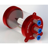 High Flow Super Trap 175ml, 4mm QS Inlet, Pump & Fill Ports