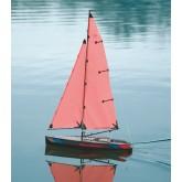 Sailing Boat Racing Micro Magic, Carbon-Optics, Kit