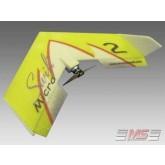 MS Composit - Micro Swift - Yellow + Motore, servi, regolatore