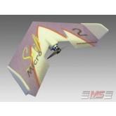 MS Composit - Micro Swift - Magenta + Motore, servi, regolatore