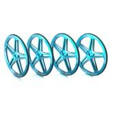 1/10 Set-Up Wheel (Blue) SK-600069-07